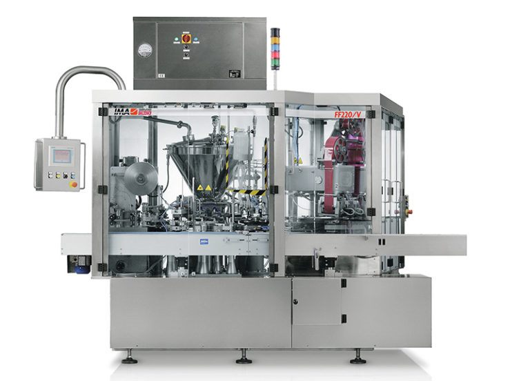 Dosing and wrapping machines for processed cheese